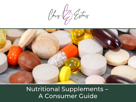 Nutritional Supplements – A Consumer Guide