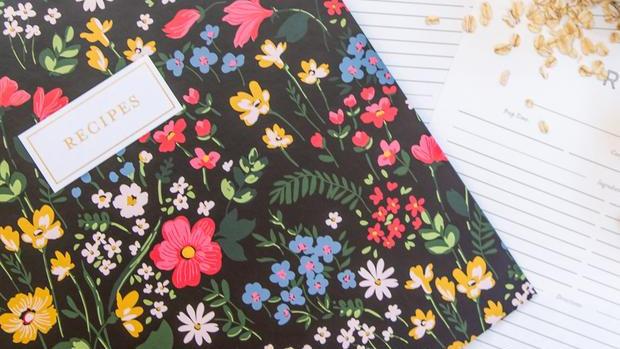 Midnight Blooms Recipe Binder Kit