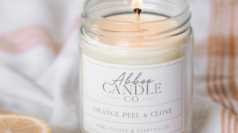 Orange Peel & Clove Soy Candle