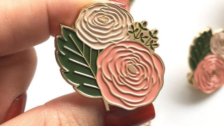 Ranunculus Lapel Pin