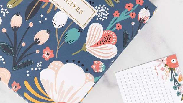 Garden Flora Recipe Binder Kit
