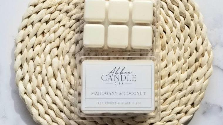 Mahogany & Coconut Wax Melt Pack