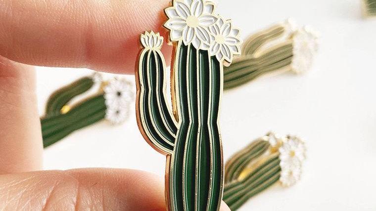 San Pedro Cactus Lapel Pin