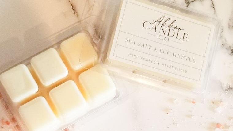 Sea Salt & Eucalyptus Wax Melt Pack