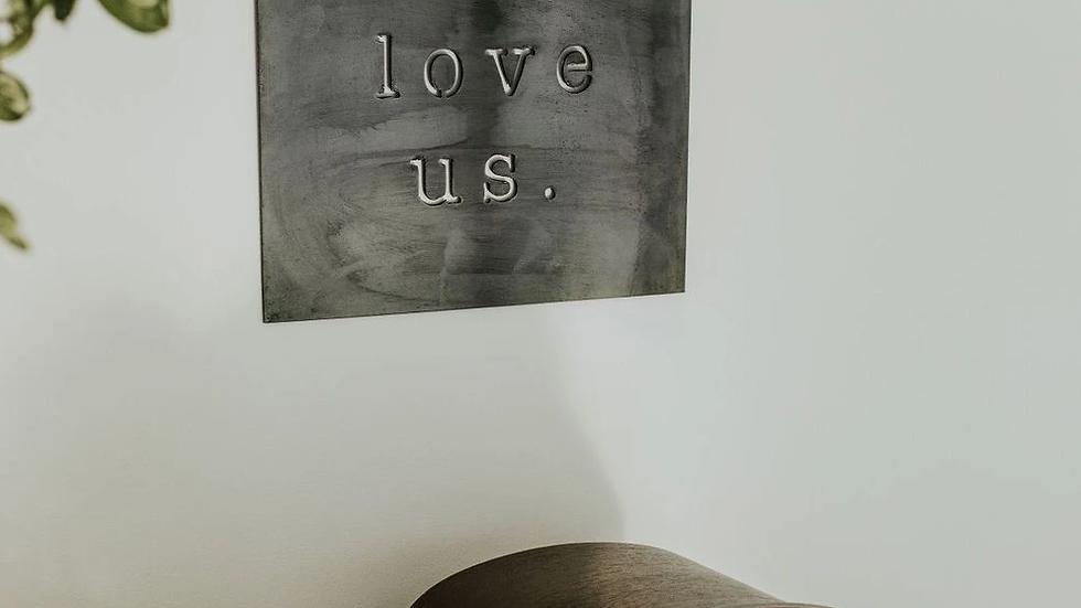 I Love Us Wall Decor