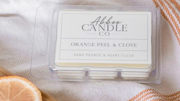 Orange Peel & Clove Wax Melt Pack