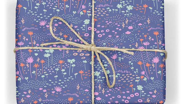Superbloom Wrapping Paper Sheet