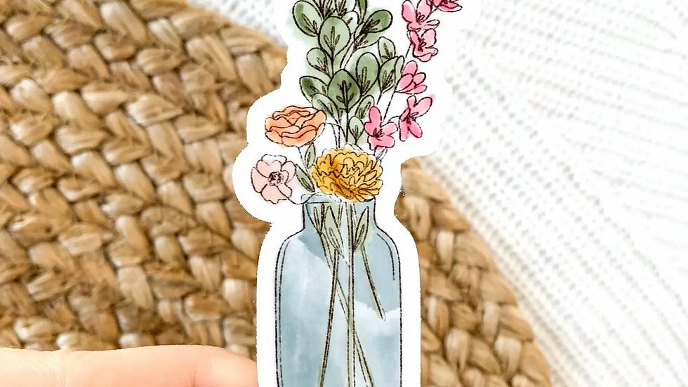Watercolor Bouquet Sticker
