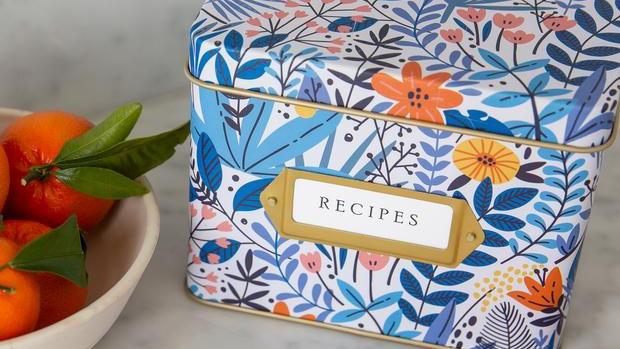 Wildflower Recipe Tin