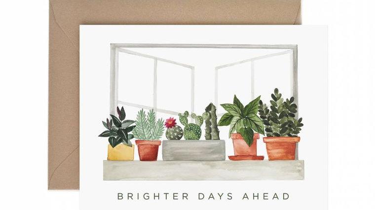 Brighter Days Ahead Sympathy Greeting Card