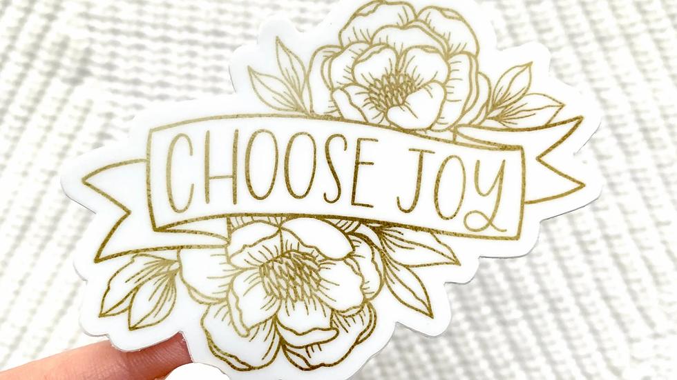 Choose Joy Sticker