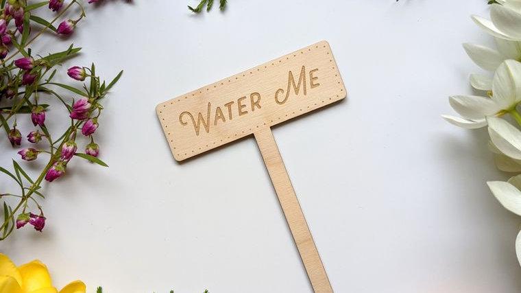 Water Me Garden Marker