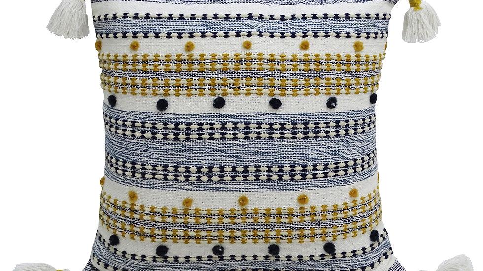 20X20 Designer Striped Pillow