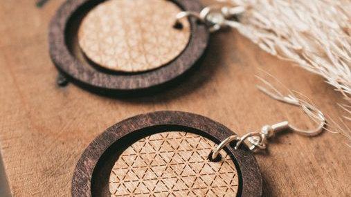 Boho Hoop Dangle Earrings