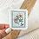 Thumbnail: Antique Floral Stamp Sticker