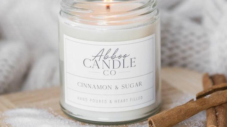 Cinnamon & Sugar Soy Candle