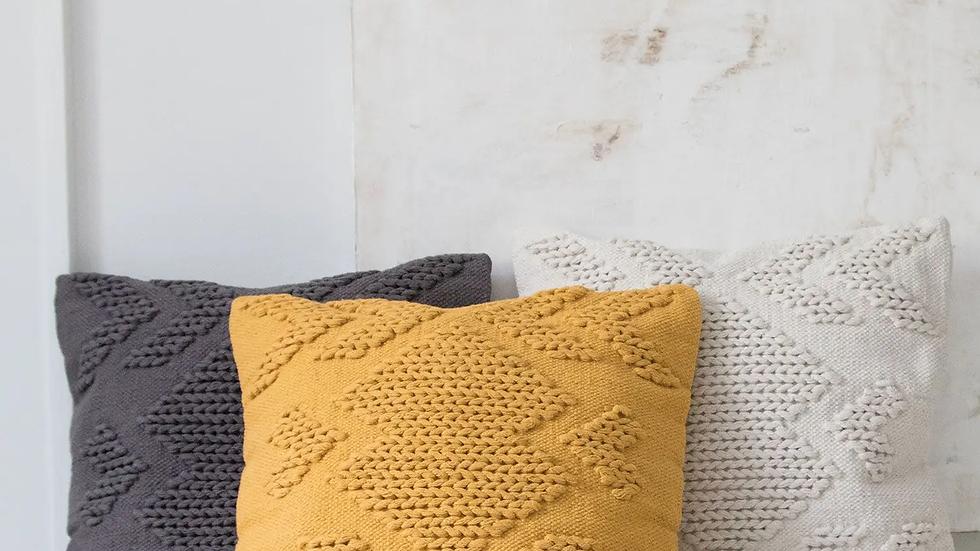 20 x 20 Hand Woven Nia Pillow