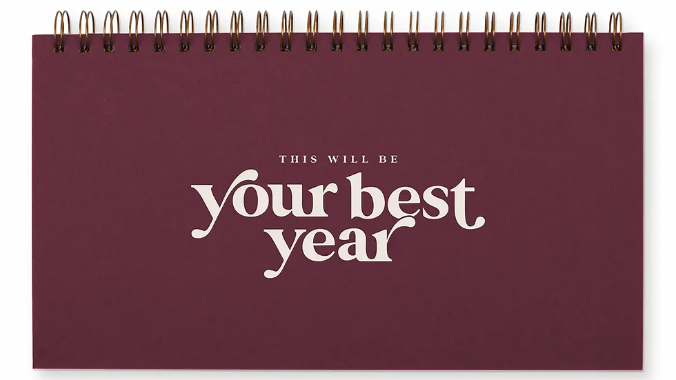 Your Best Year Weekly Planner