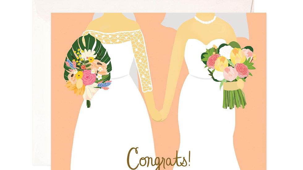 Brides Greeting Card
