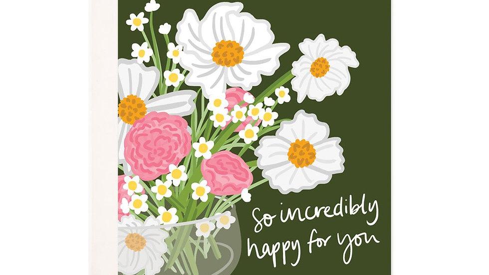 Happy Daisies Greeting Card