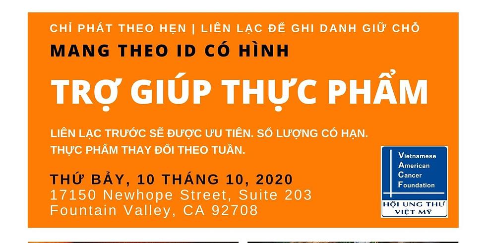Trợ Giúp Thực Phẩm - Food Distribution | Saturday, Oct 10