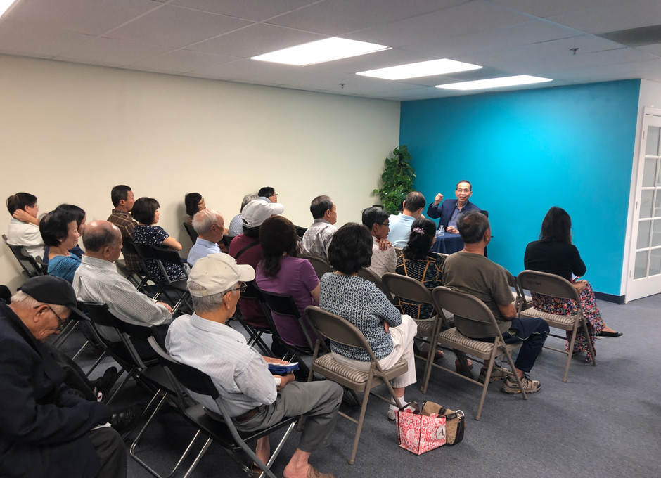 Monthly meeting about mental health