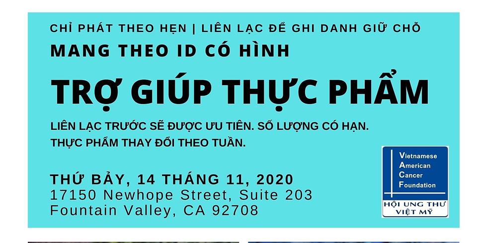 Trợ Giúp Thực Phẩm - Food Distribution | Saturday, Nov 14