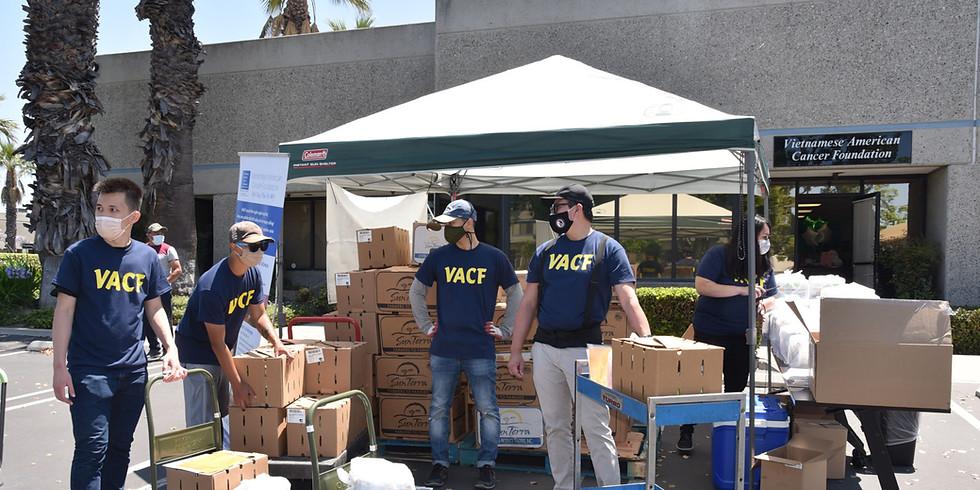 Trợ Cấp Thực Phẩm Food Distribution (July 25)