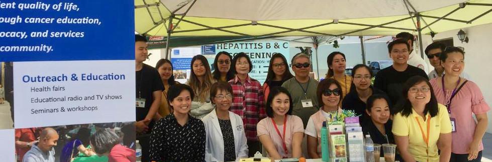 Health fair and screening