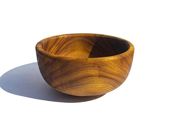 Acacia Natural Wood Bowl