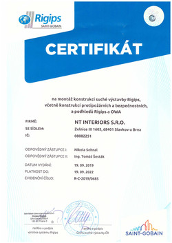Certifikát_RIGIPS