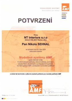 Certifikát_AMF