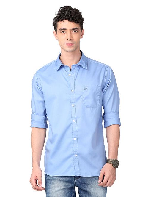 Hades Carolina Blue Twill Shirt