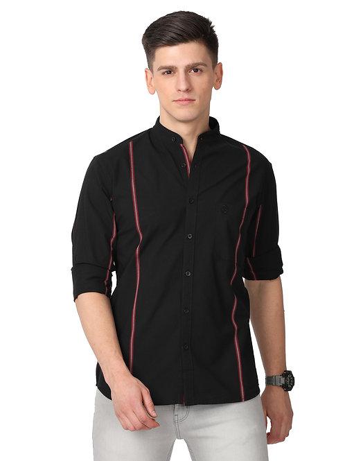 Hades Solidarity Black  & Red Striped Shirt