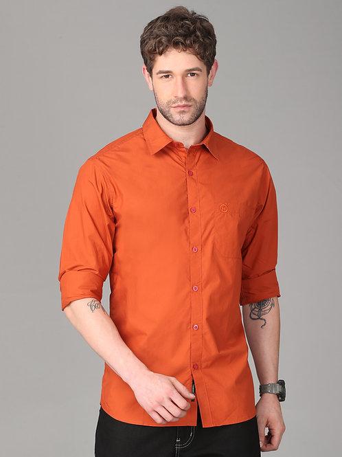 Hades Fiery Orange Poplin Shirts