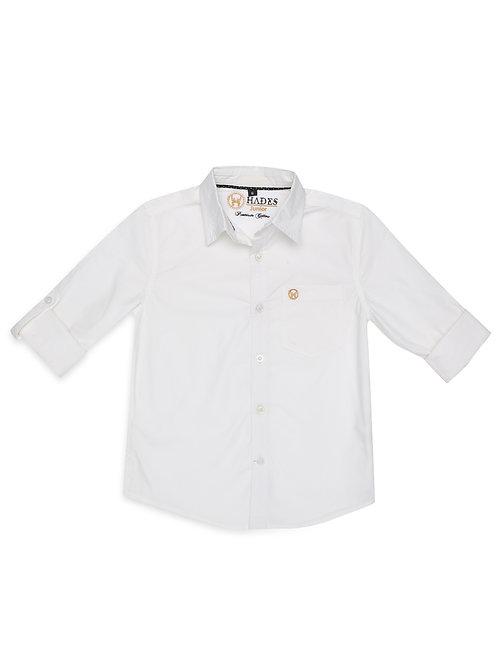 Junior Perma Press Off White Shirt
