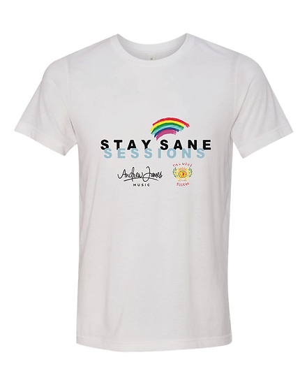 Adult Stay Sane Sessions T-shirt