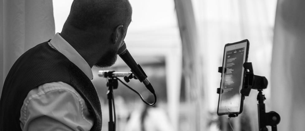 Andrew James wedding singer - photo credit Neil Stuart