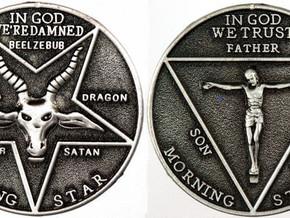 God Is Satan. Satan Is God. One and the Same. Which Is Good? Which Is Bad? Which Is Which?