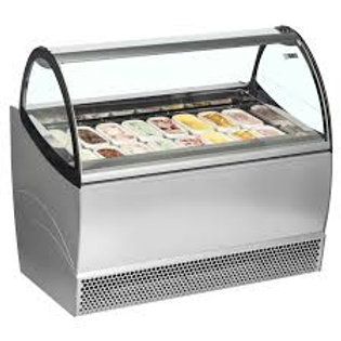 ISA Millenium LX 12 Flavor Display Case for Gelato and Ice Cream (Demo)