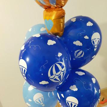 bouquet  montgolfière welcom baby