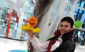 sculptures de ballons Halloween