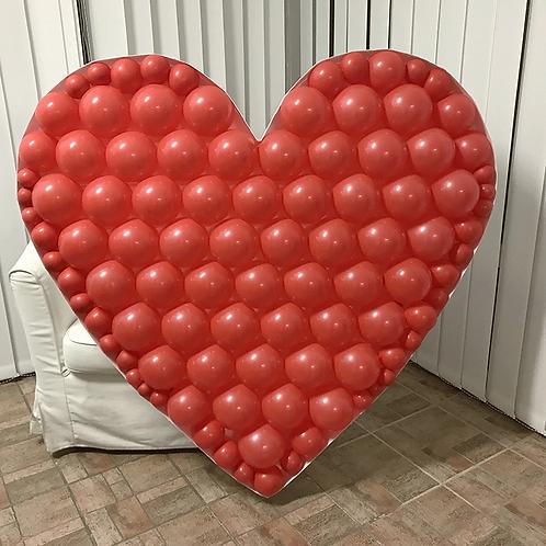 """Structure """" Cœur """" ( +Ballons Rouge offert )"""