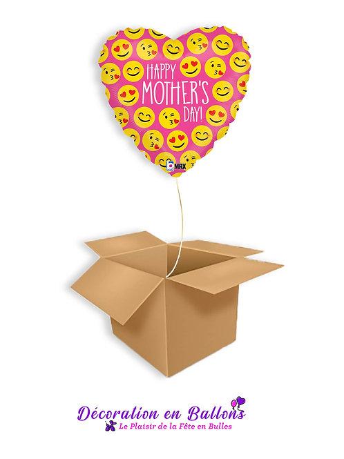 Cœur smiley Happy mother's day
