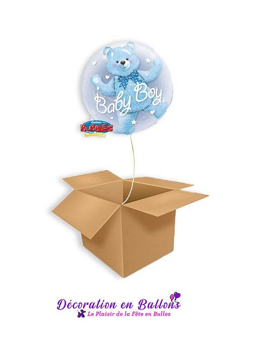 Ballon Bubble Baby Boy
