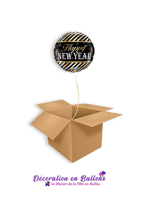 "1 Ballon "" Happy new year"""