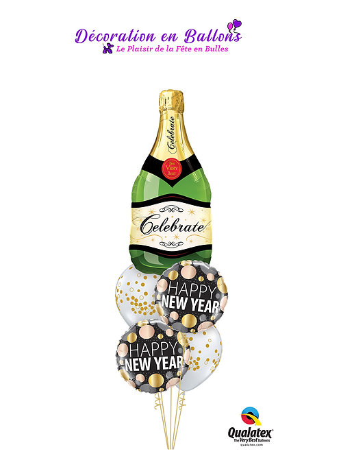 Bouquet champagne