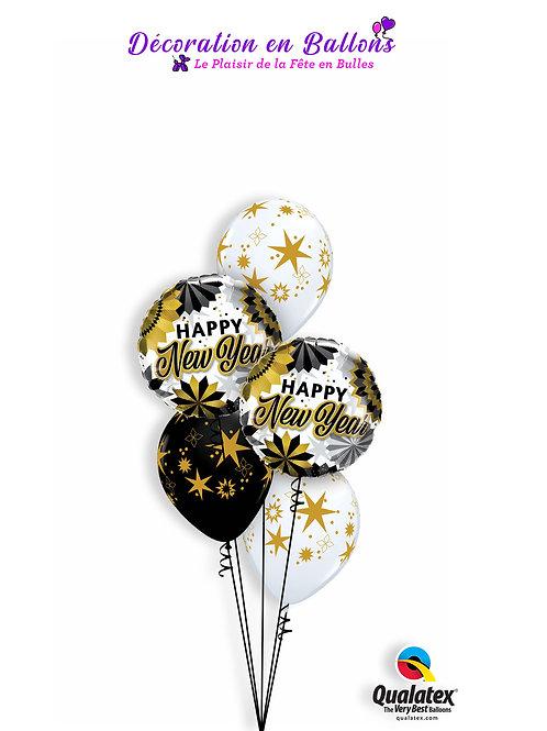 Bouquet Happy New Year stars
