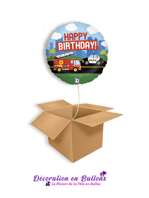 Happy Birthday ! Pompier , Police