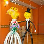 mariés Ballons